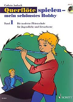 Floetelernen - Querflöte spielen mein schönstes Hobby I inkl. CD - Onlineshop Musikhaus Kirstein