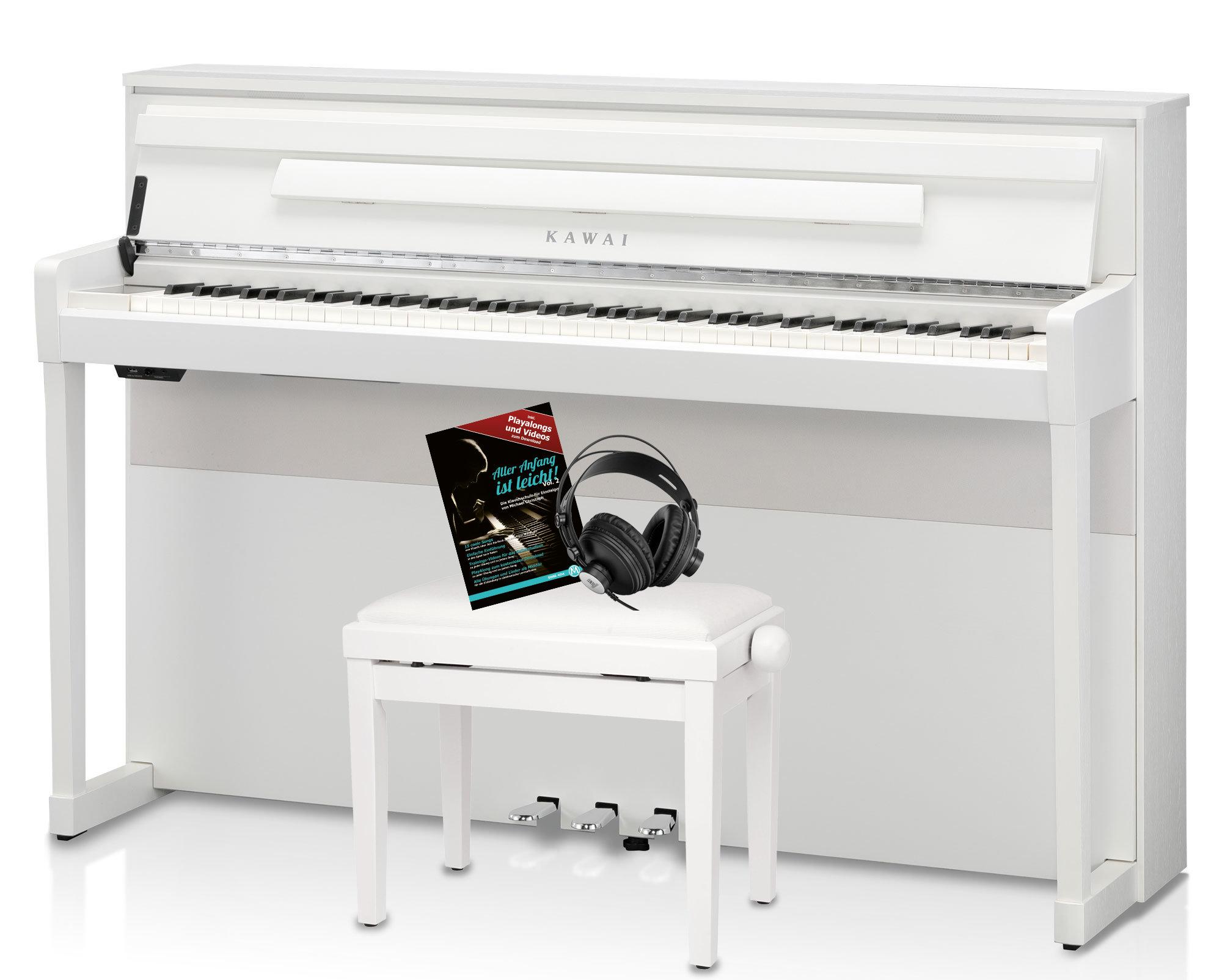 Digitalpianos - Kawai CA 99 W Digitalpiano Set Weiß matt - Onlineshop Musikhaus Kirstein