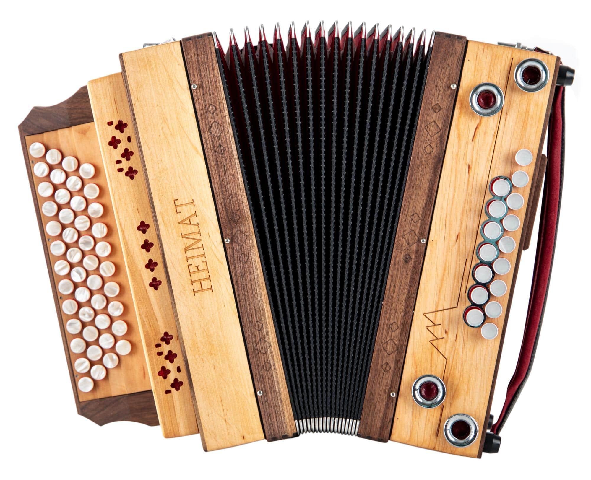 Heimat 4/III Harmonika F-Bb-Es-As Erle