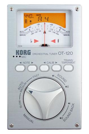 Musikerzubehoer - Korg OT 120 High End Chromatic Tuner - Onlineshop Musikhaus Kirstein