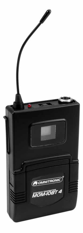Omnitronic MOM 10BT4 Taschensender