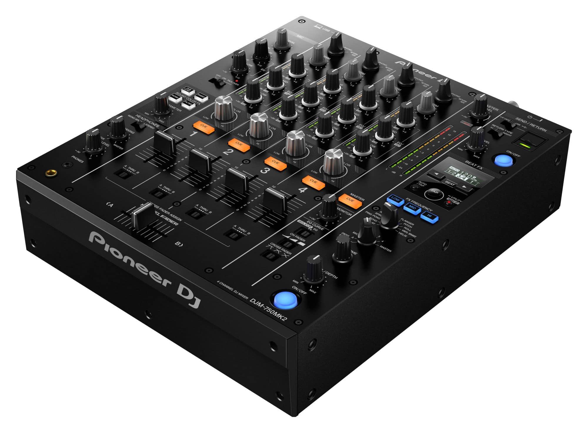 Djmixer - Pioneer DJ DJM 750MK2 - Onlineshop Musikhaus Kirstein
