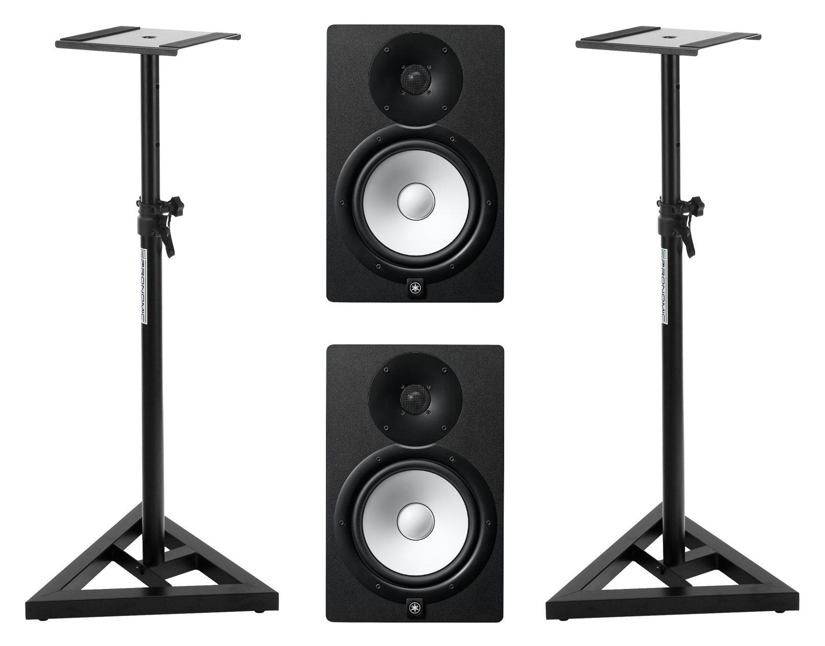 Studiomonitore - Yamaha HS8 MP Stativ Set - Onlineshop Musikhaus Kirstein