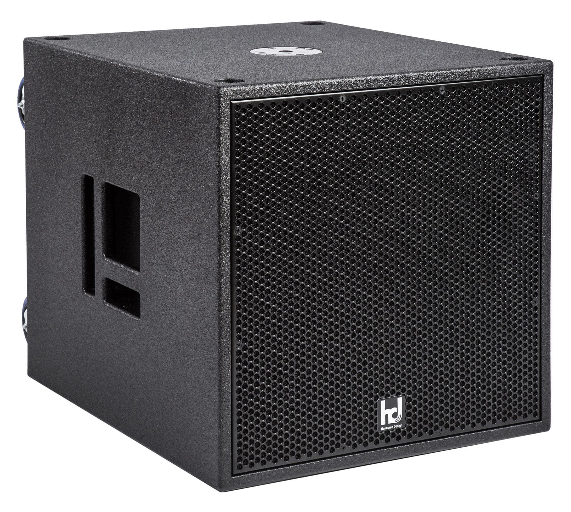 Harmonic Design P18 Multi DSP Aktiv Subwoofer, 4100 Watt Digitalcontroller, 1x 2500W 2x 800 W, mit Rollen Retoure (Zustand gut)