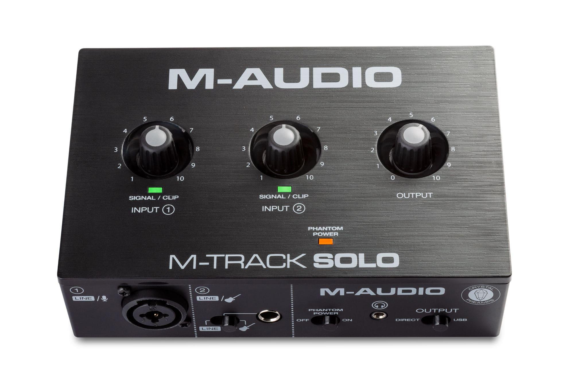 Pchardware - M Audio M Track Solo - Onlineshop Musikhaus Kirstein