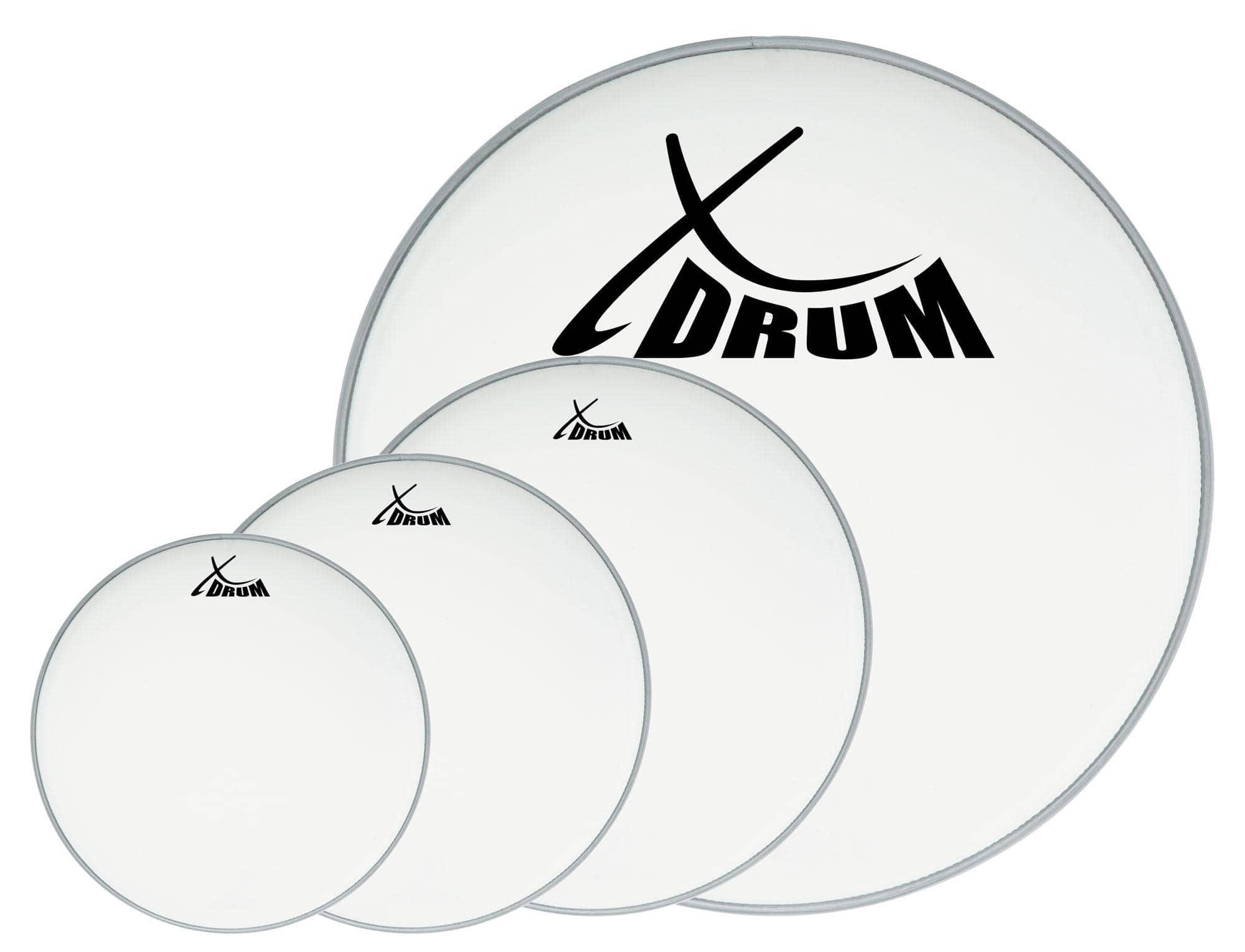 XDrum Coated Drumfell SET 10' 12' 14' 22'