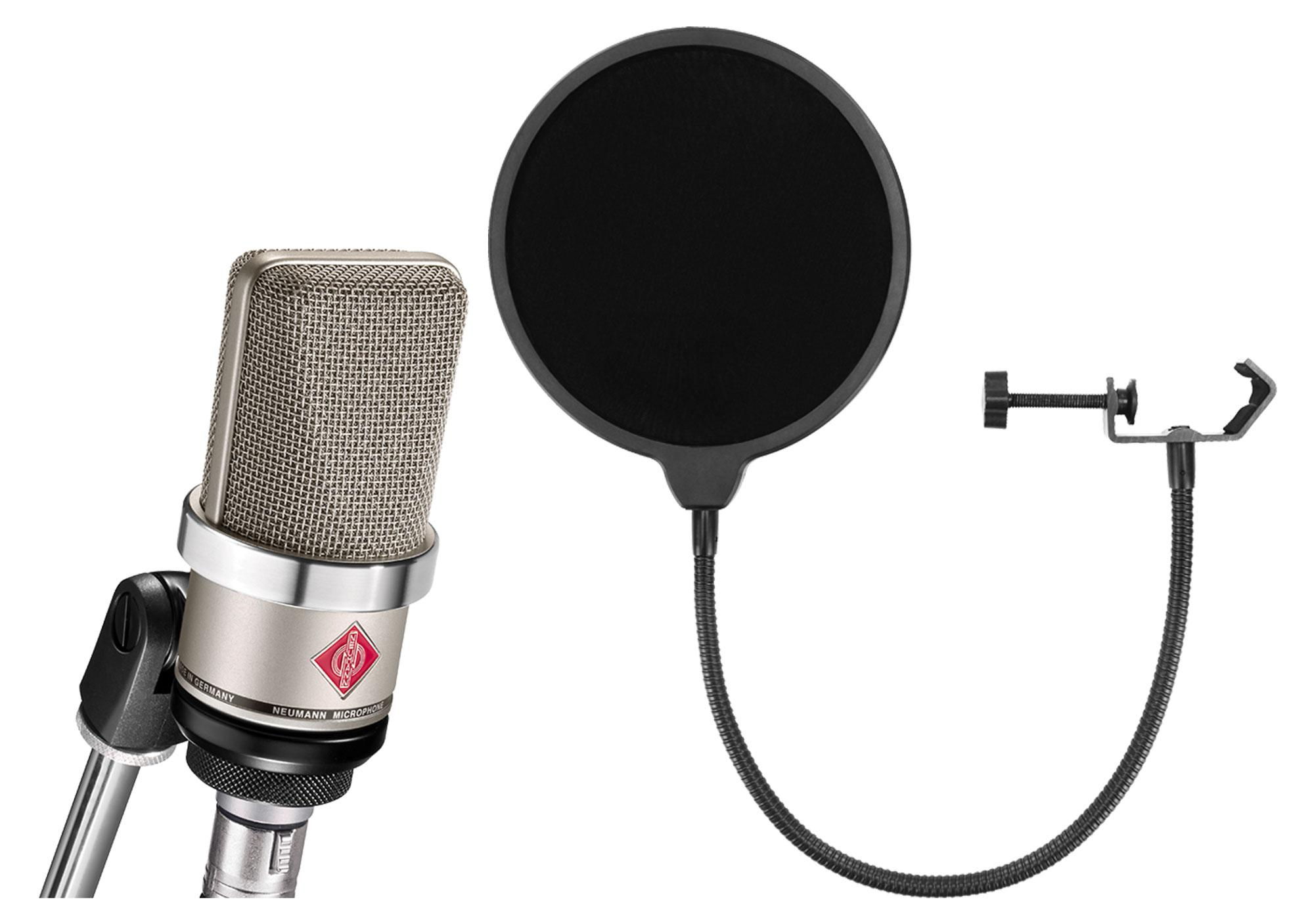 Mikrofone - Neumann TLM 102 NI Mikrofon Set inkl. Popkiller - Onlineshop Musikhaus Kirstein