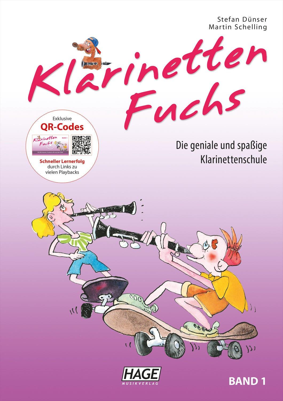 Klarinettelernen - Der Klarinetten Fuchs Band 1 - Onlineshop Musikhaus Kirstein