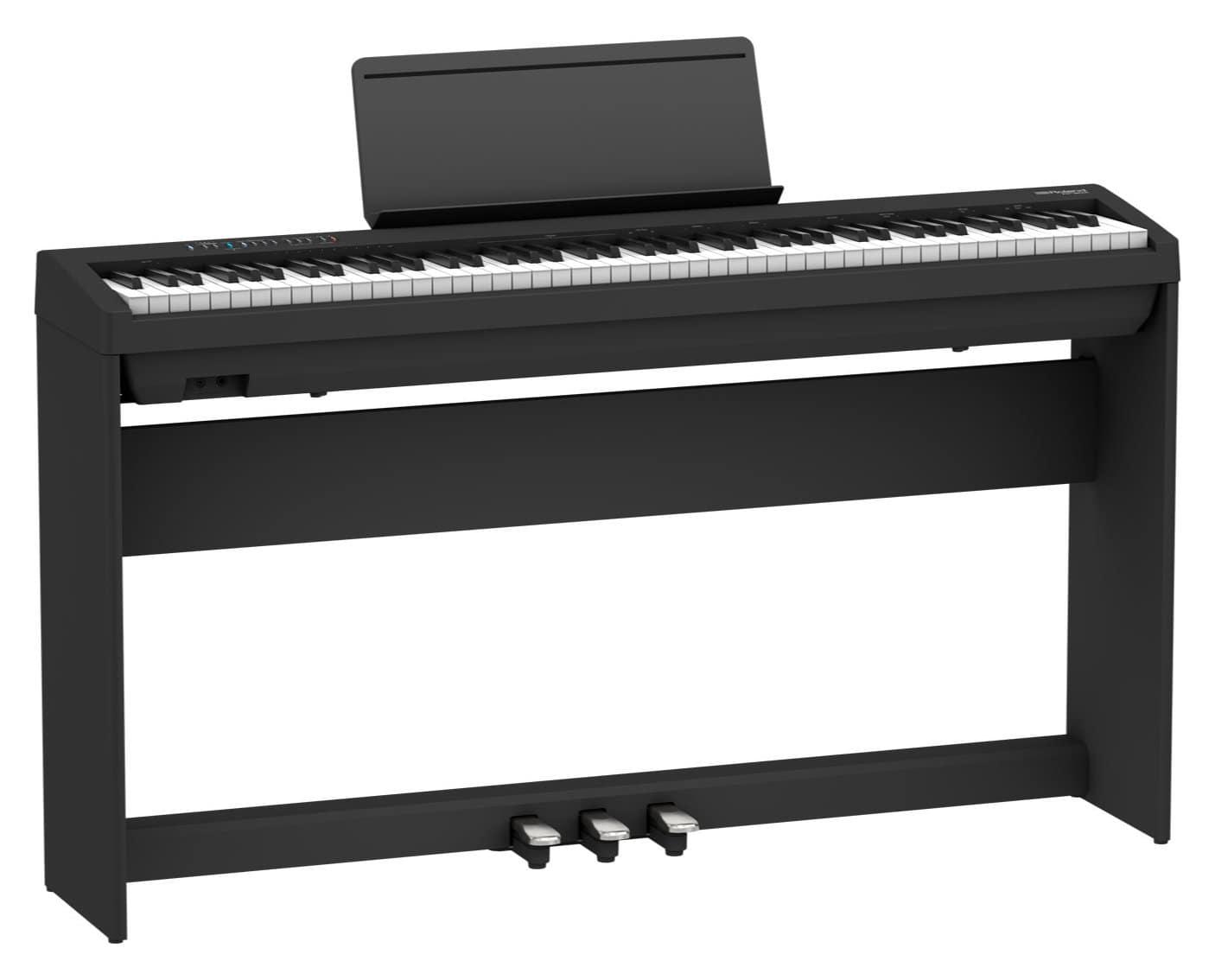 Digitalpianos - Roland FP 30X BK Stagepiano Set Schwarz - Onlineshop Musikhaus Kirstein