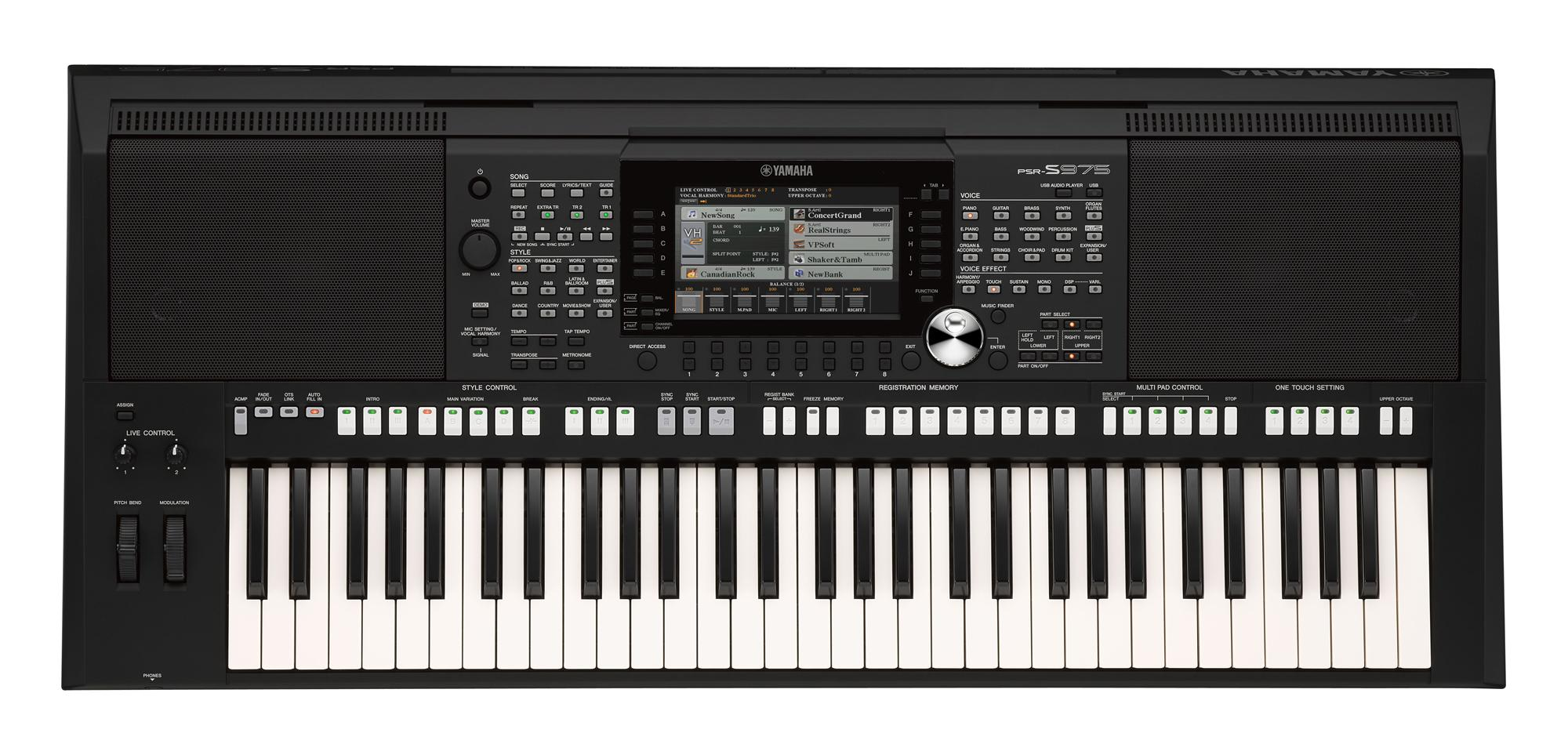 P Yamaha Digital Keyboard