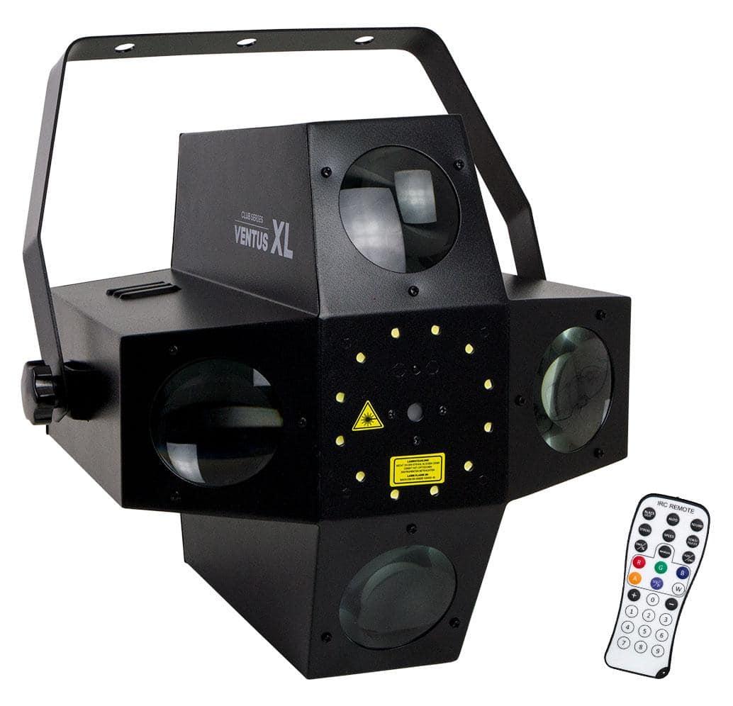 Lichteffekte - Involight VENTUS XL Hybrid LED DMX Laser Flower - Onlineshop Musikhaus Kirstein