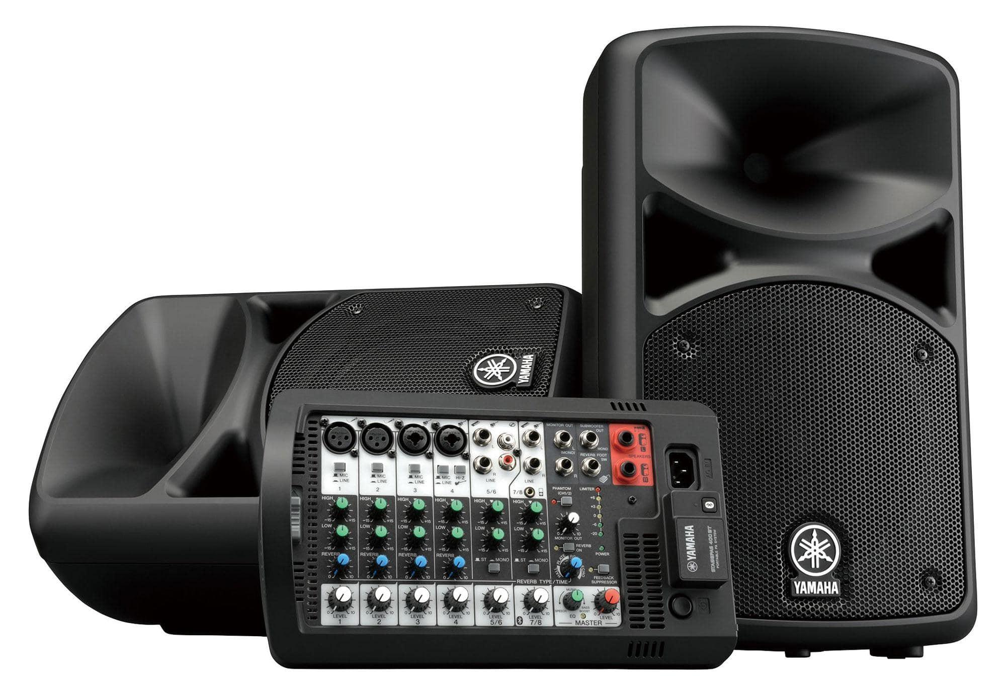 Boxenkomplettanlagen - Yamaha STAGEPAS 400BT - Onlineshop Musikhaus Kirstein