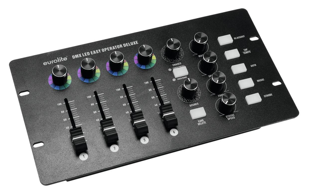 Lichtsteuerung - Eurolite DMX LED Easy Operator Deluxe - Onlineshop Musikhaus Kirstein
