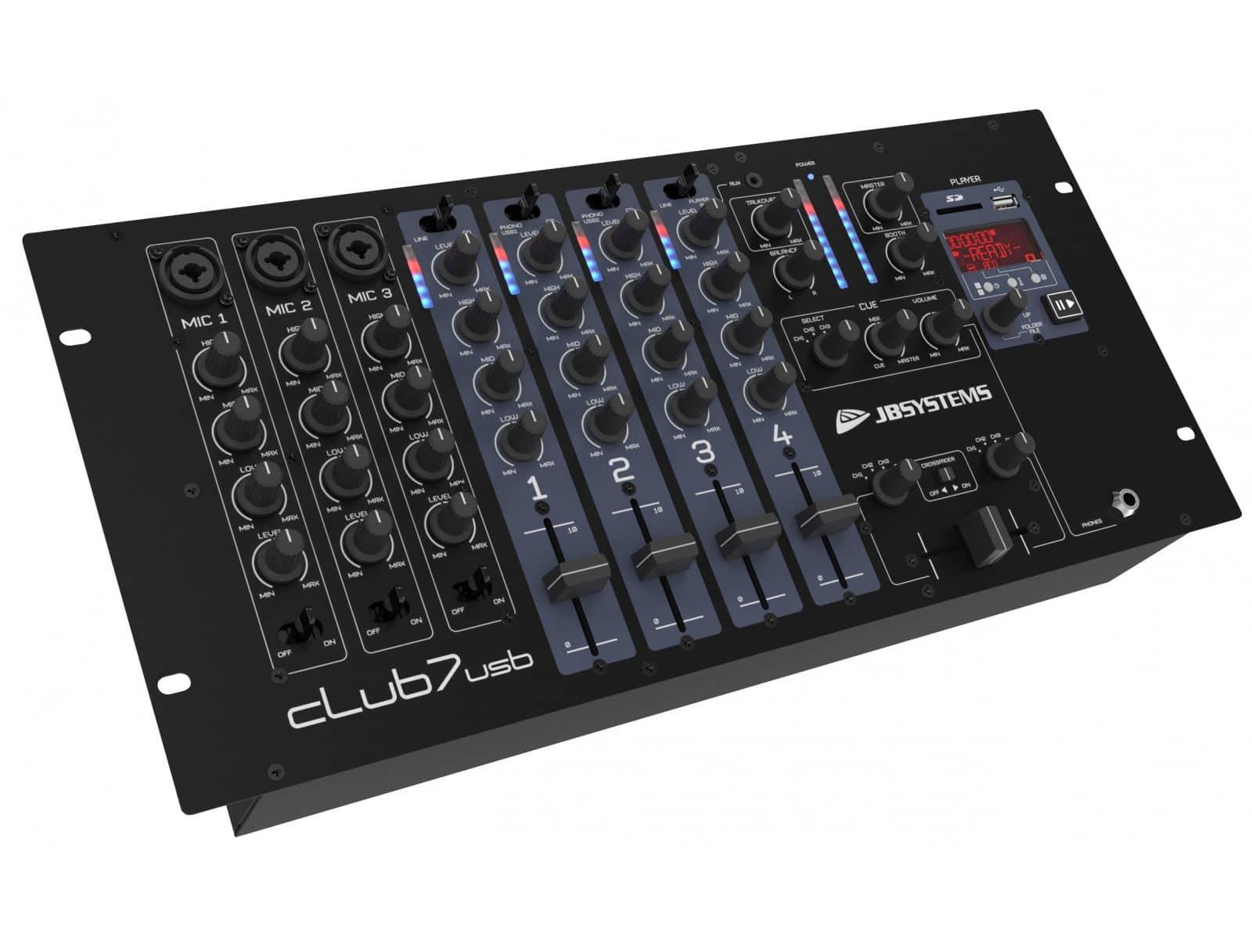 Djmixer - JB Systems Club7 USB - Onlineshop Musikhaus Kirstein