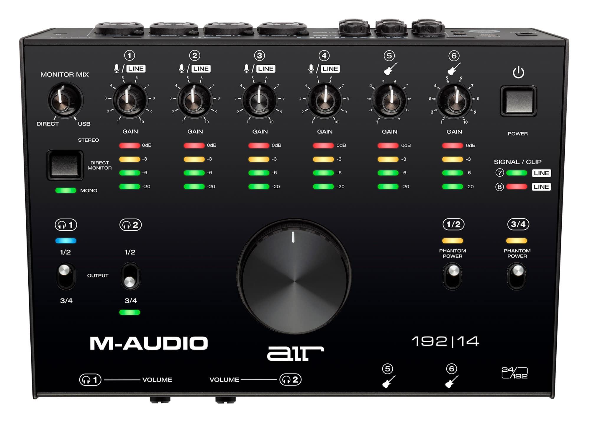 Pchardware - M Audio AIR 192|14 - Onlineshop Musikhaus Kirstein