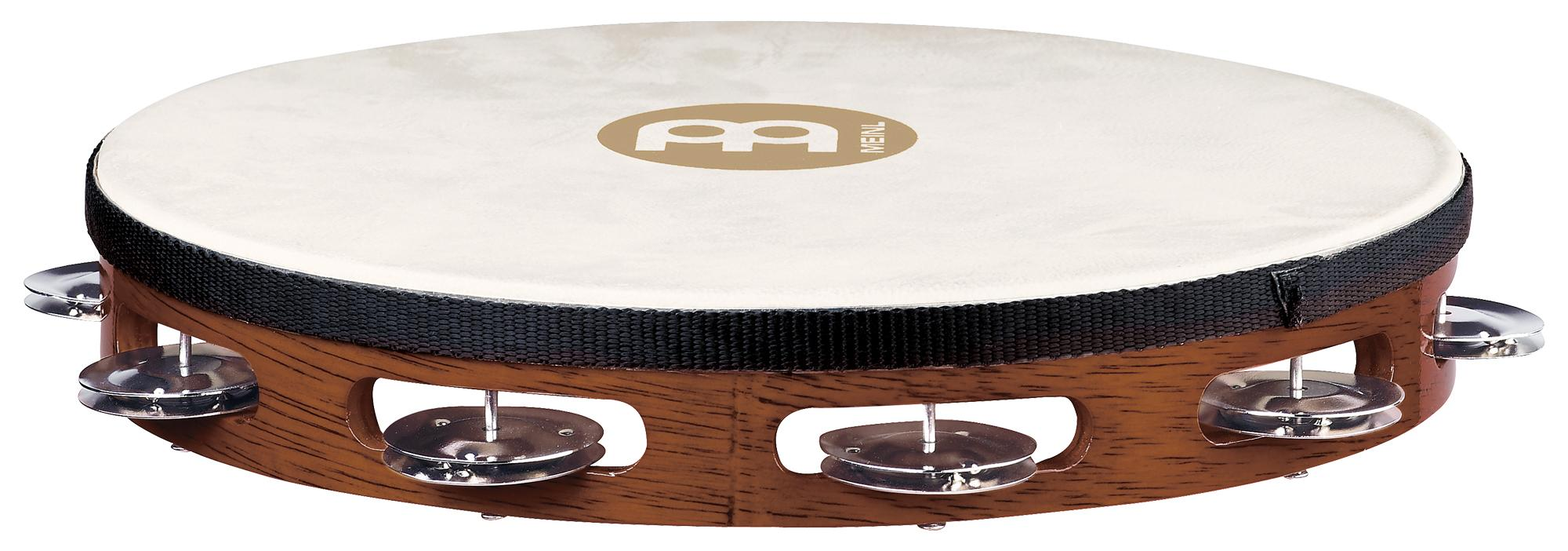 Meinl TAH1AB Traditional Ziegenfell Holz Tambourine