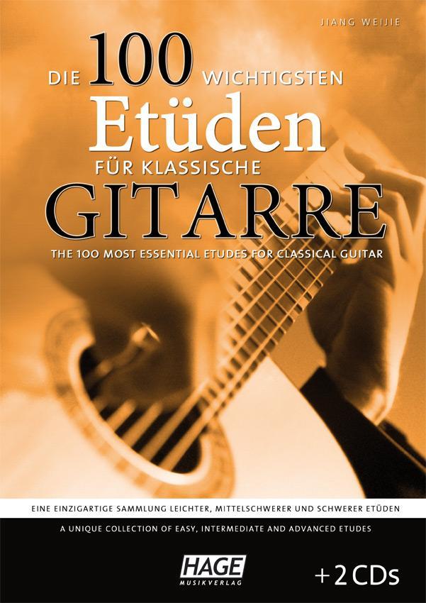 Gitarrelernen - Die 100 wichtigsten Etueden für klassische Gitarre - Onlineshop Musikhaus Kirstein