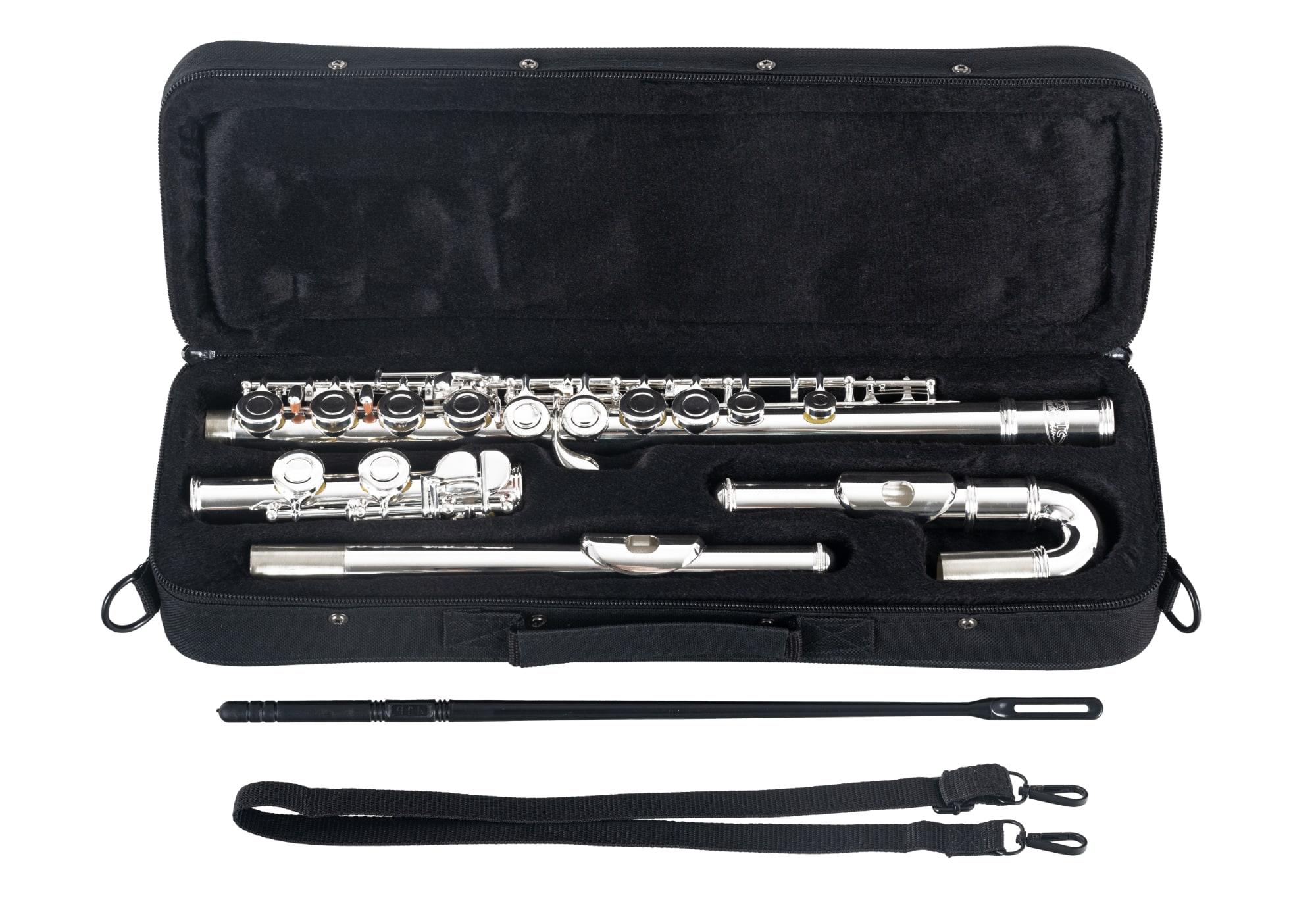 Sonstigeblasinstrumente - Classic Cantabile FL 200U Querflöte versilbert - Onlineshop Musikhaus Kirstein