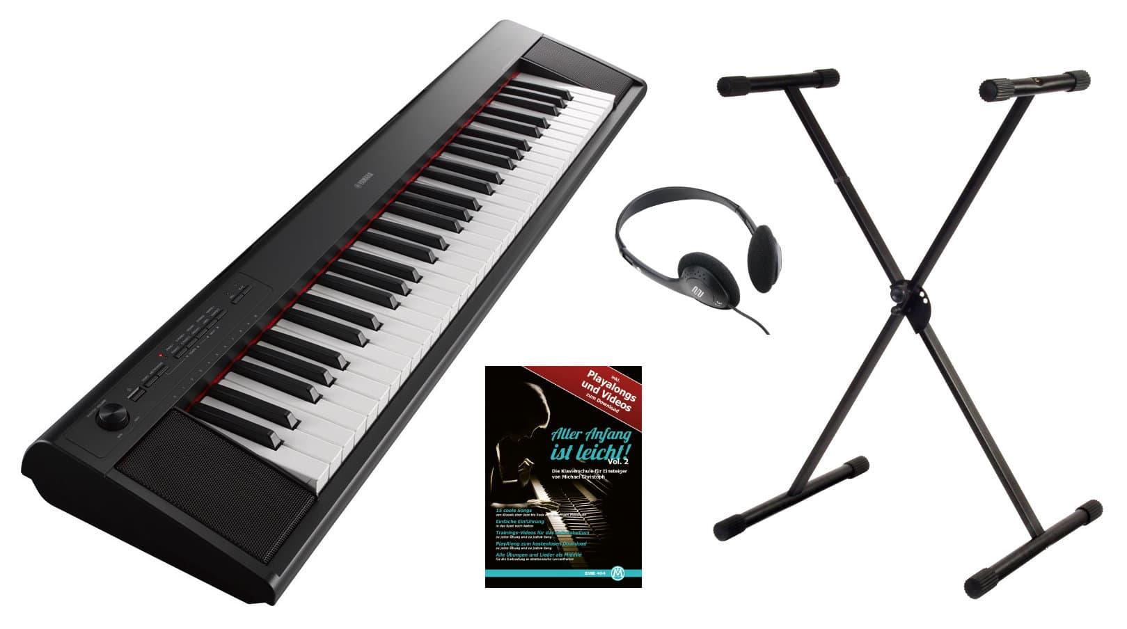 Yamaha NP 12B Stagepiano schwarz Set