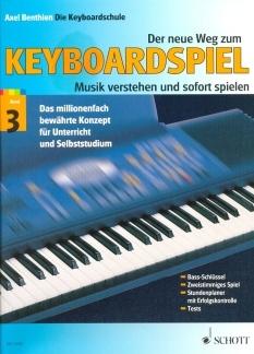 Keyboardlernen - Der neue Weg zum Keyboardspiel Band 3 - Onlineshop Musikhaus Kirstein