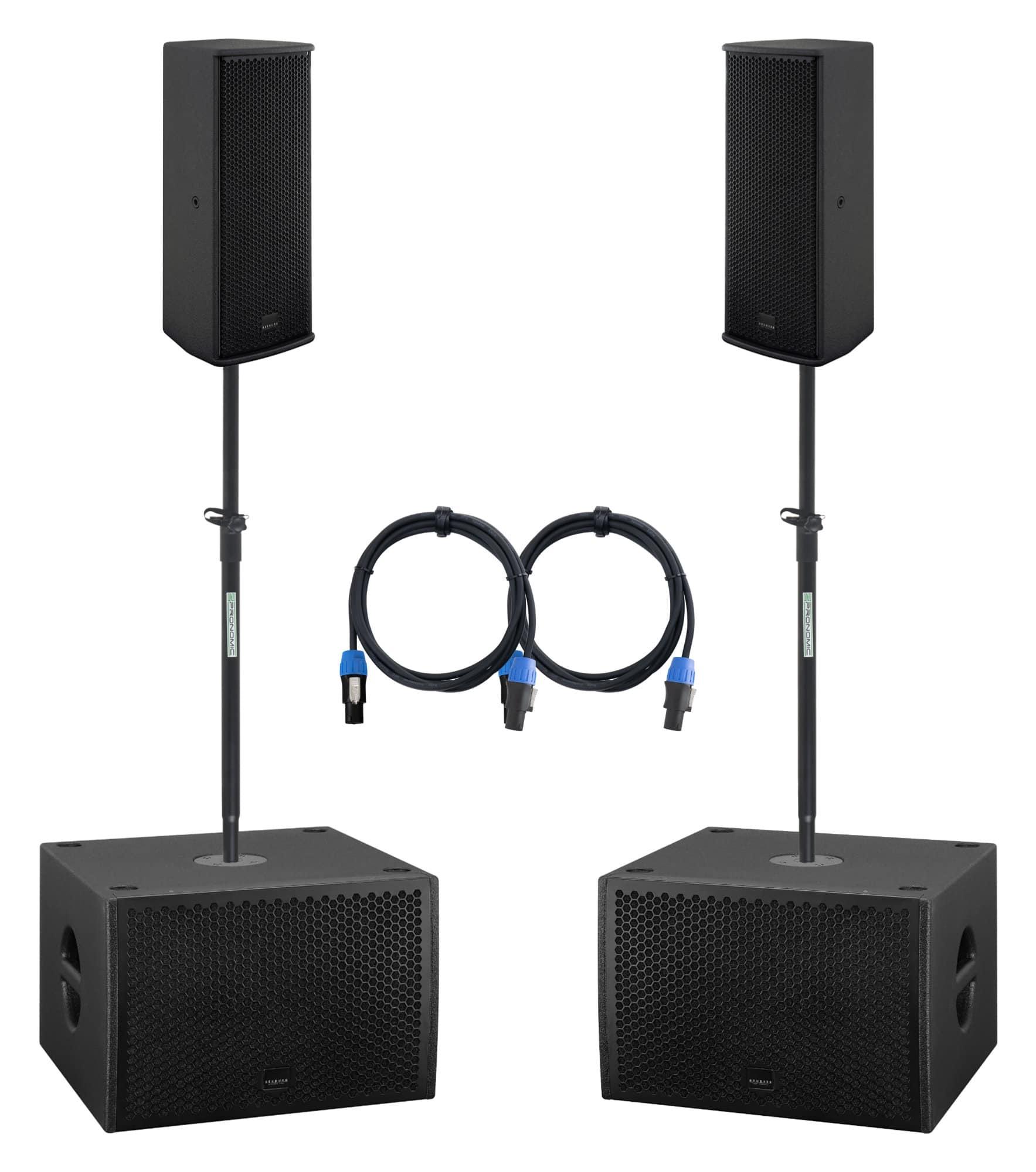 Boxenkomplettanlagen - Seeburg A2|G Sub 1201dp Stereo Set - Onlineshop Musikhaus Kirstein