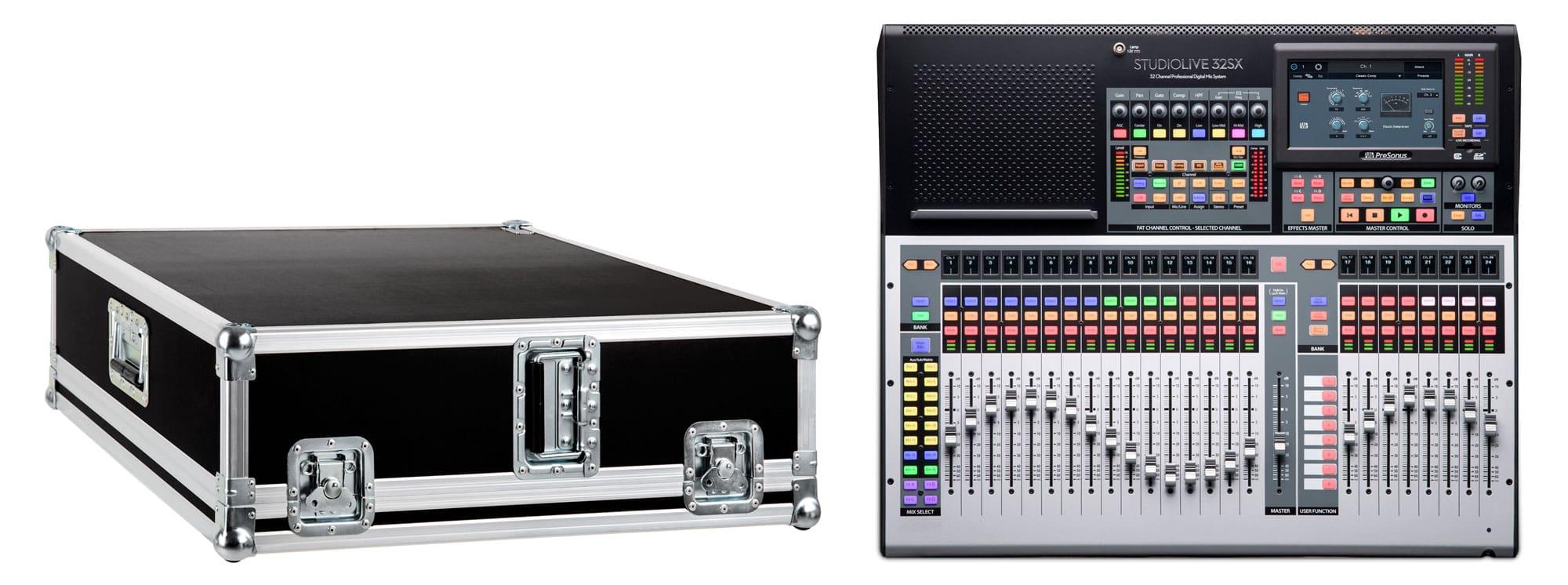 Mischpulte - PreSonus StudioLive 32SX mit Case - Onlineshop Musikhaus Kirstein