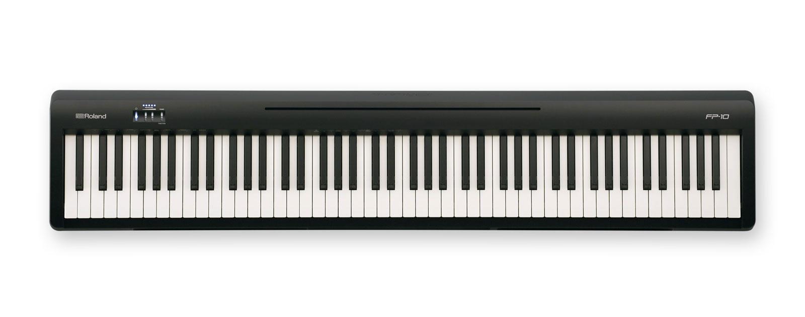 Stagepianos - Roland FP 10 BK Stagepiano - Onlineshop Musikhaus Kirstein