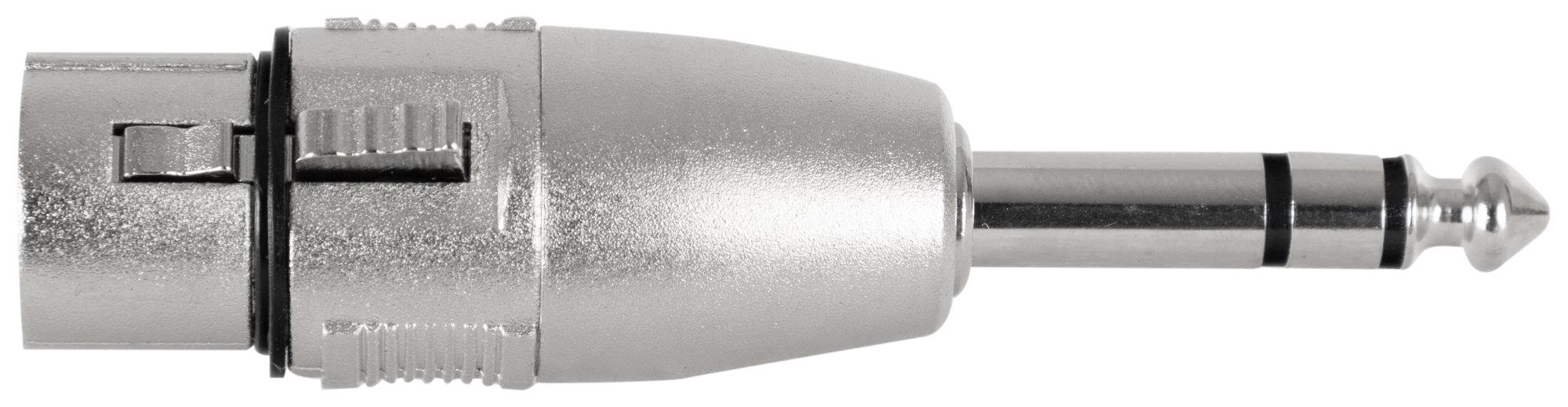 Kabelmulticores - Pronomic AD JSXF Adapter 6,3mm Stereo Klinke male | XLR female - Onlineshop Musikhaus Kirstein