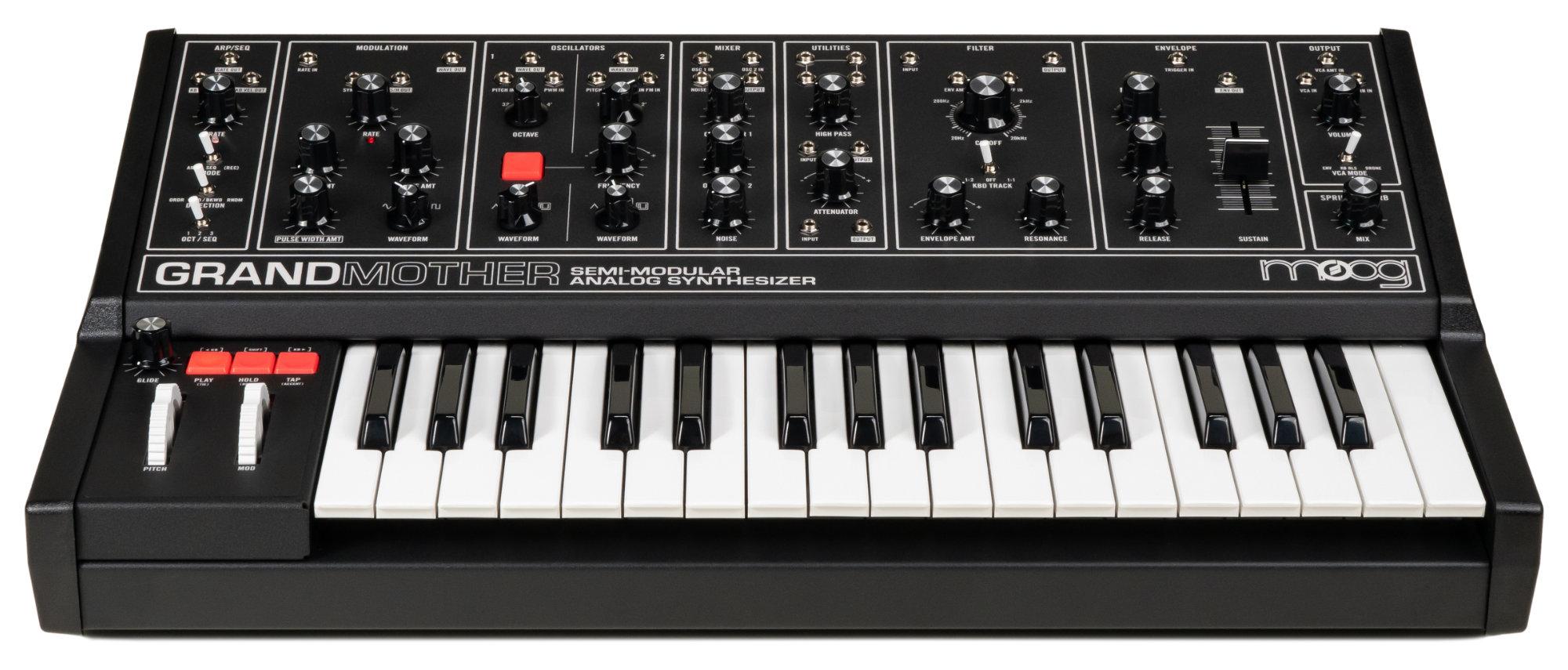 Synthesizer - Moog Grandmother Dark - Onlineshop Musikhaus Kirstein