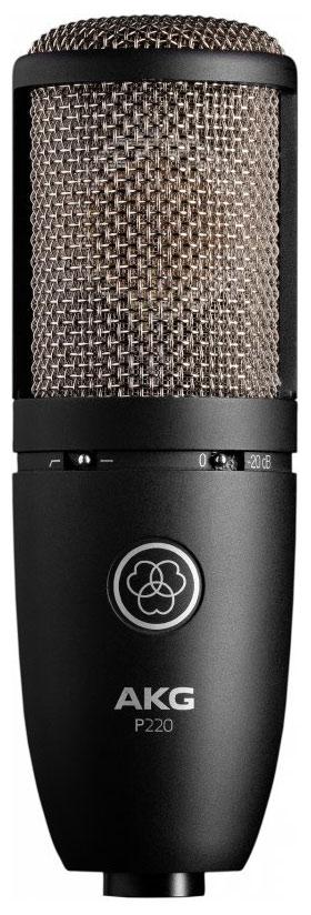 Mikrofone - AKG P 220 - Onlineshop Musikhaus Kirstein