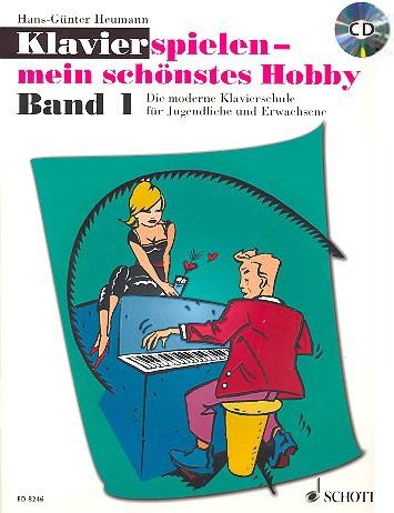 Klavierlernen - Klavierspielen mein schönstes Hobby 1 Band 1 inkl. CD - Onlineshop Musikhaus Kirstein