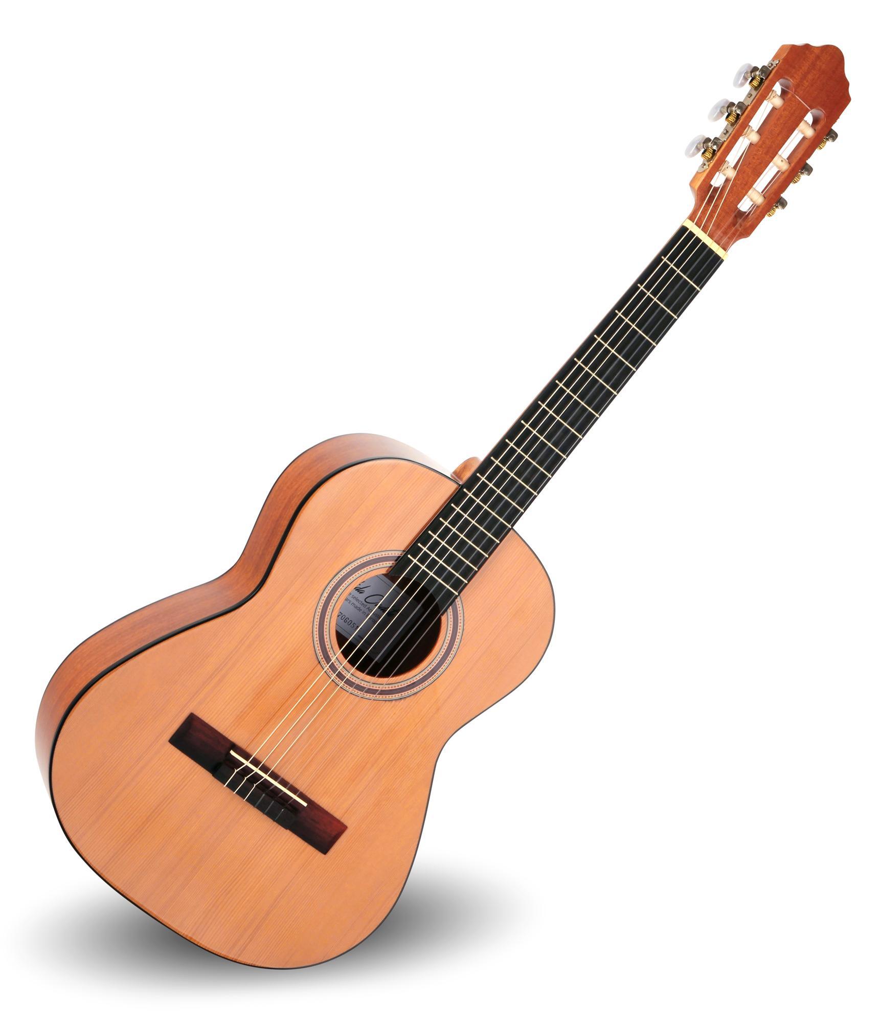 Calida Cadete Konzertgitarre 1|2 Zeder Hochglanz Made in Portugal