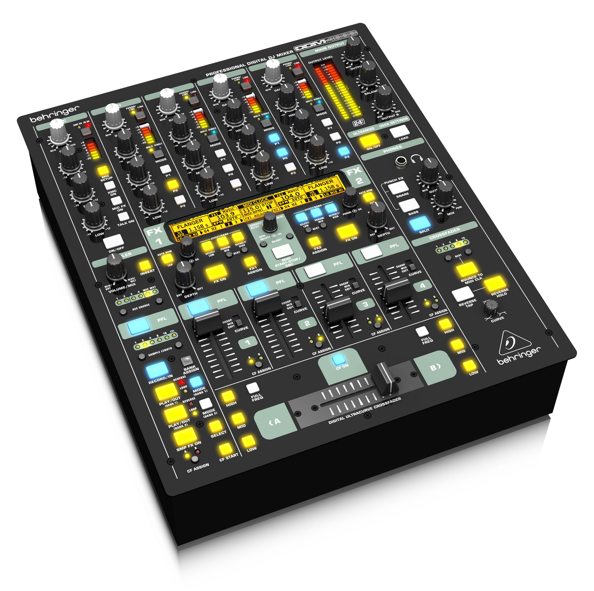 Djmixer - Behringer DDM 4000 DJ Mixer - Onlineshop Musikhaus Kirstein