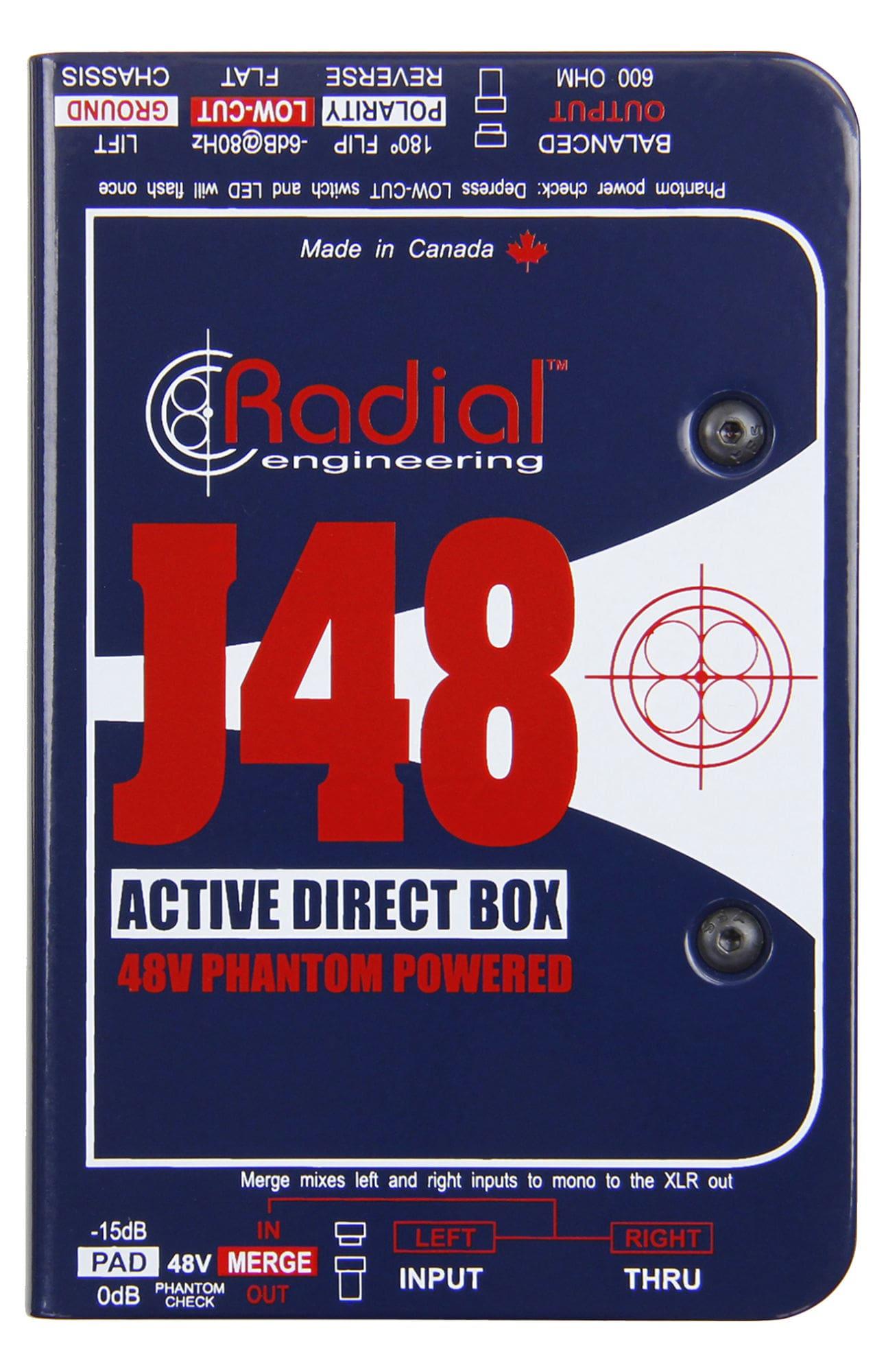 Diboxen - Radial Engineering J48 - Onlineshop Musikhaus Kirstein