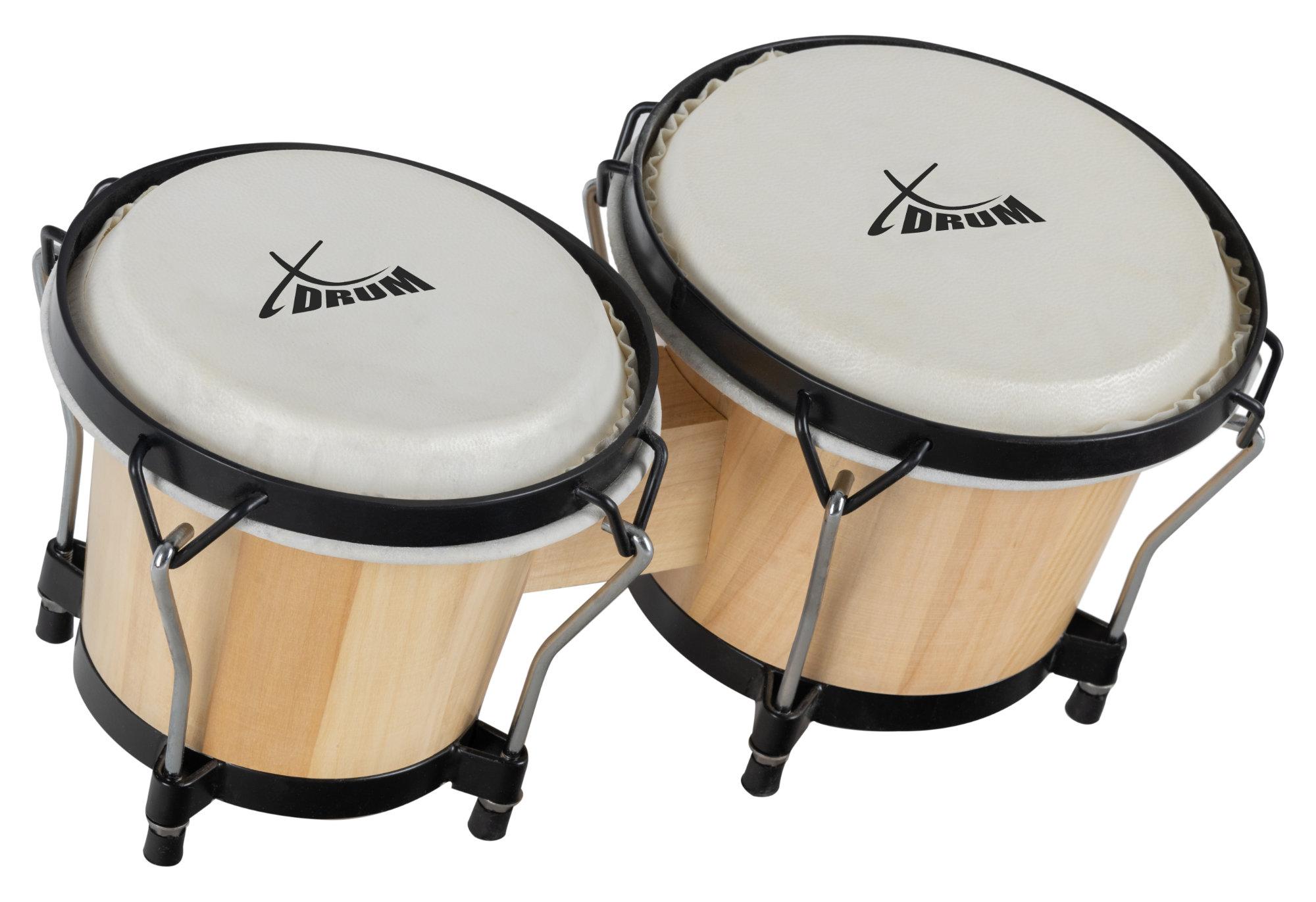 Percussion - XDrum Bongo Club Standard Natur Retoure (Zustand sehr gut) - Onlineshop Musikhaus Kirstein