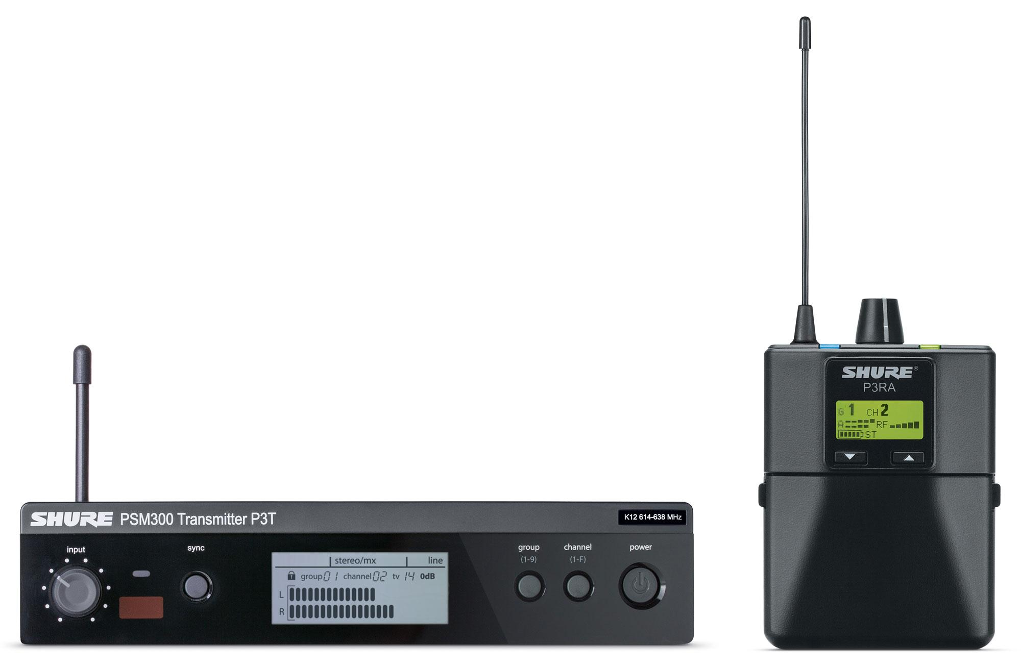 Drahtlossysteme - Shure PSM 300 Premium S8 In Ear Monitoring - Onlineshop Musikhaus Kirstein