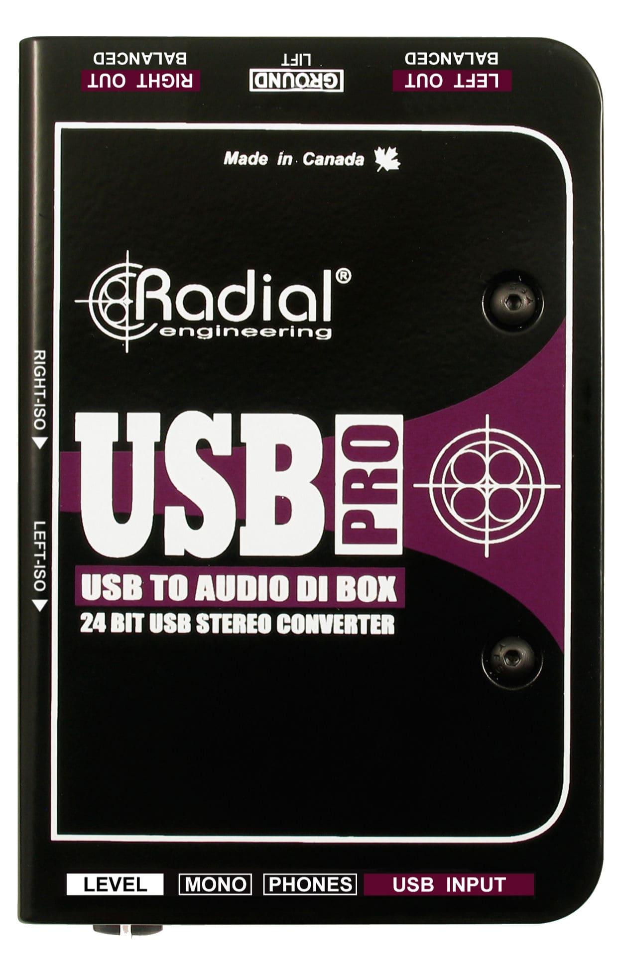 Diboxen - Radial Engineering USB Pro - Onlineshop Musikhaus Kirstein