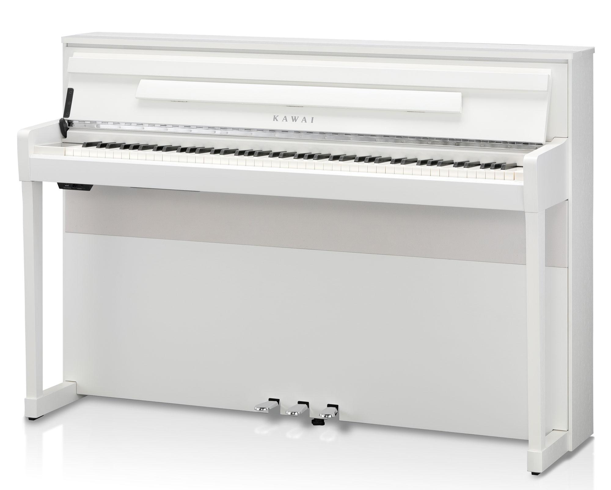 Digitalpianos - Kawai CA 99 W Digitalpiano Weiß matt - Onlineshop Musikhaus Kirstein