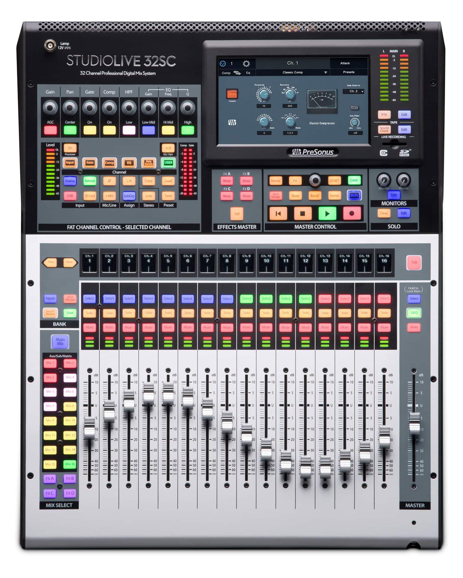 Mischpulte - PreSonus StudioLive 32SC - Onlineshop Musikhaus Kirstein