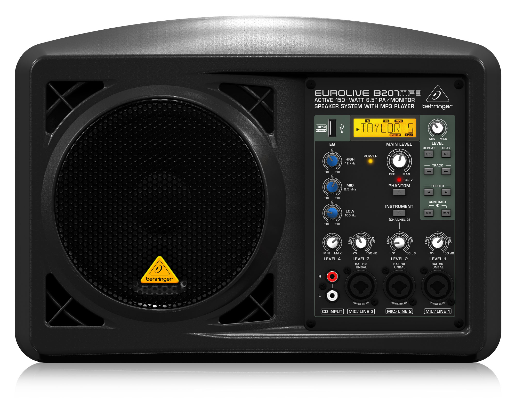 Paboxen - Behringer B207MP3 Aktiv Lautsprecher - Onlineshop Musikhaus Kirstein