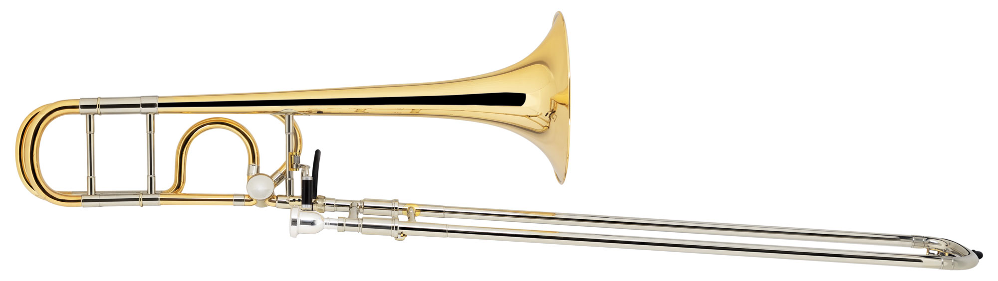 Posaunen - Lechgold QP 17GMs Quartposaune Goldmessing - Onlineshop Musikhaus Kirstein