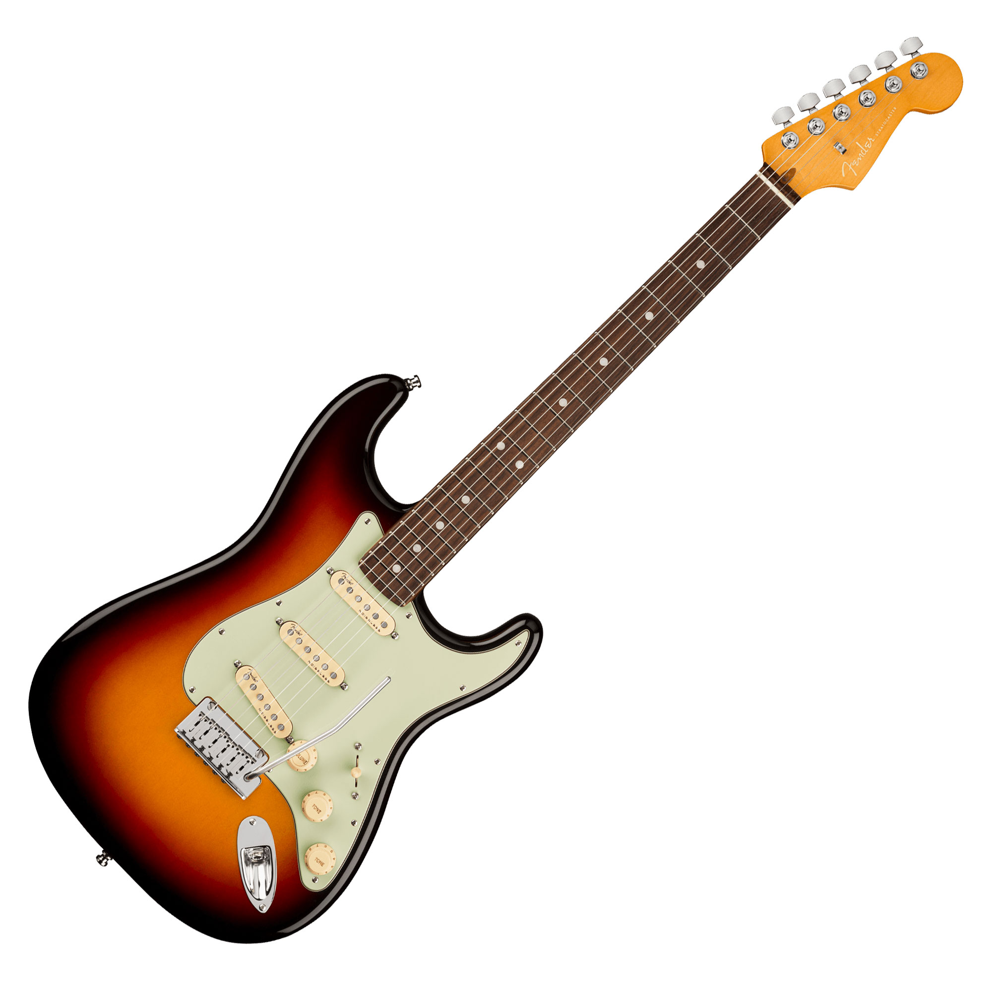 Egitarren - Fender American Ultra Stratocaster RW Ultraburst - Onlineshop Musikhaus Kirstein