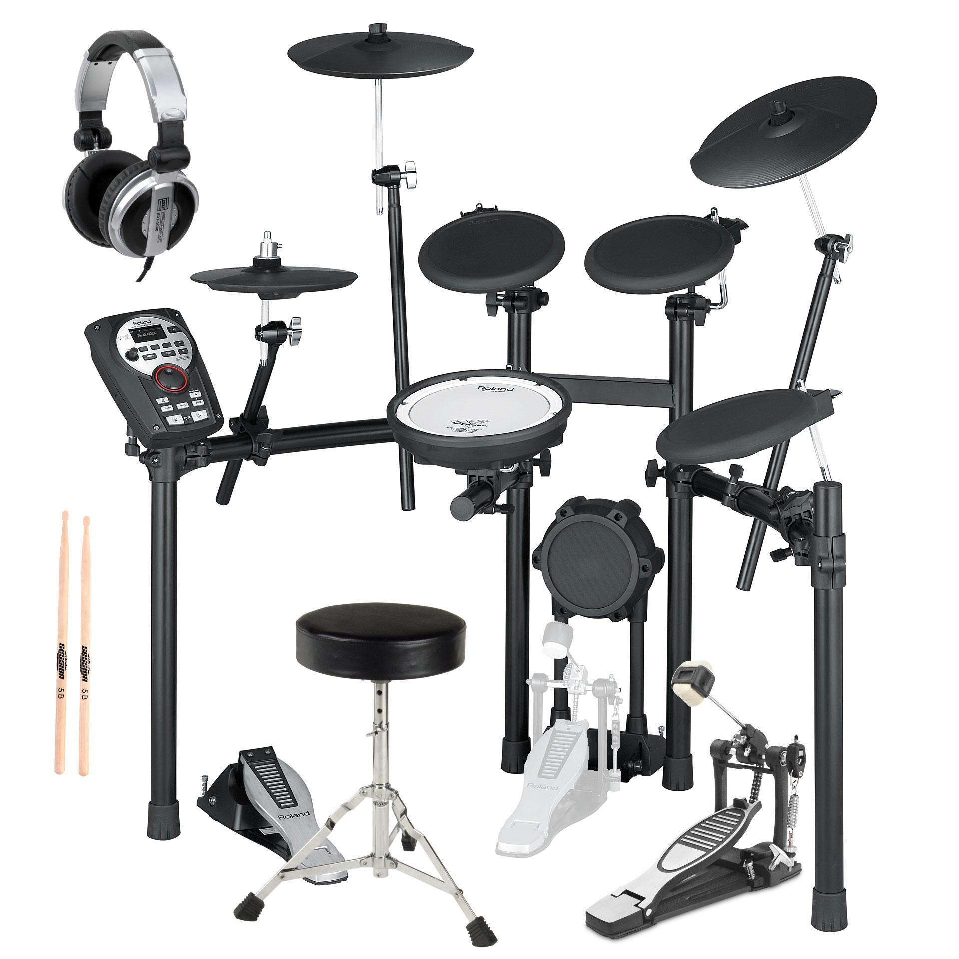 Roland TD 11K V Drumset SET inkl. MDS 4V Rack