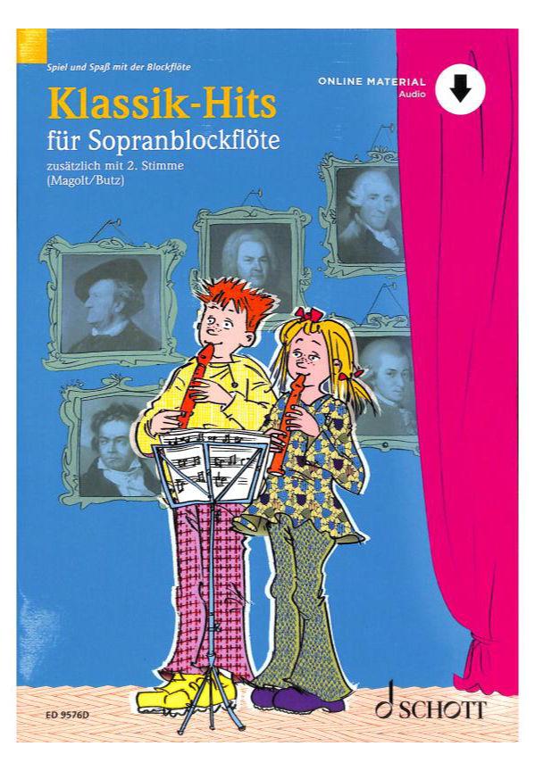 Floetelernen - Klassik Hits für Sopranblockflöten - Onlineshop Musikhaus Kirstein