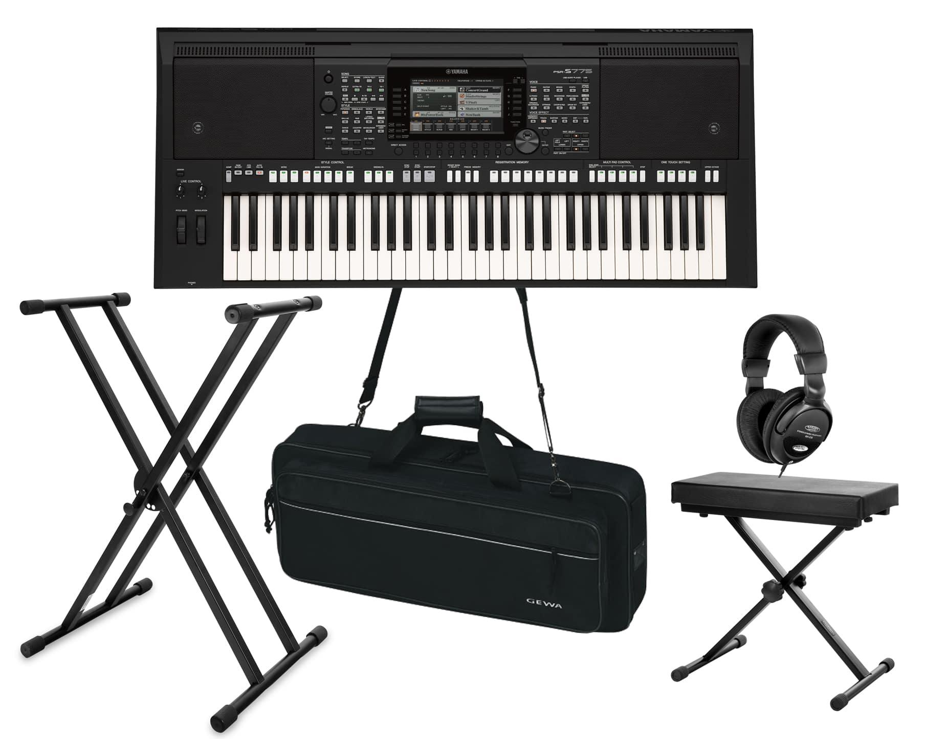 Yamaha PSR S775 Keyboard Set Deluxe