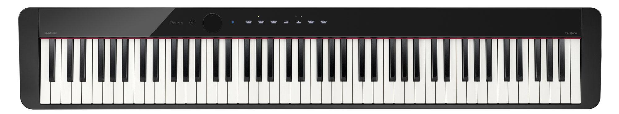 Stagepianos - Casio PX S1000 BK Privia Digitalpiano Schwarz - Onlineshop Musikhaus Kirstein