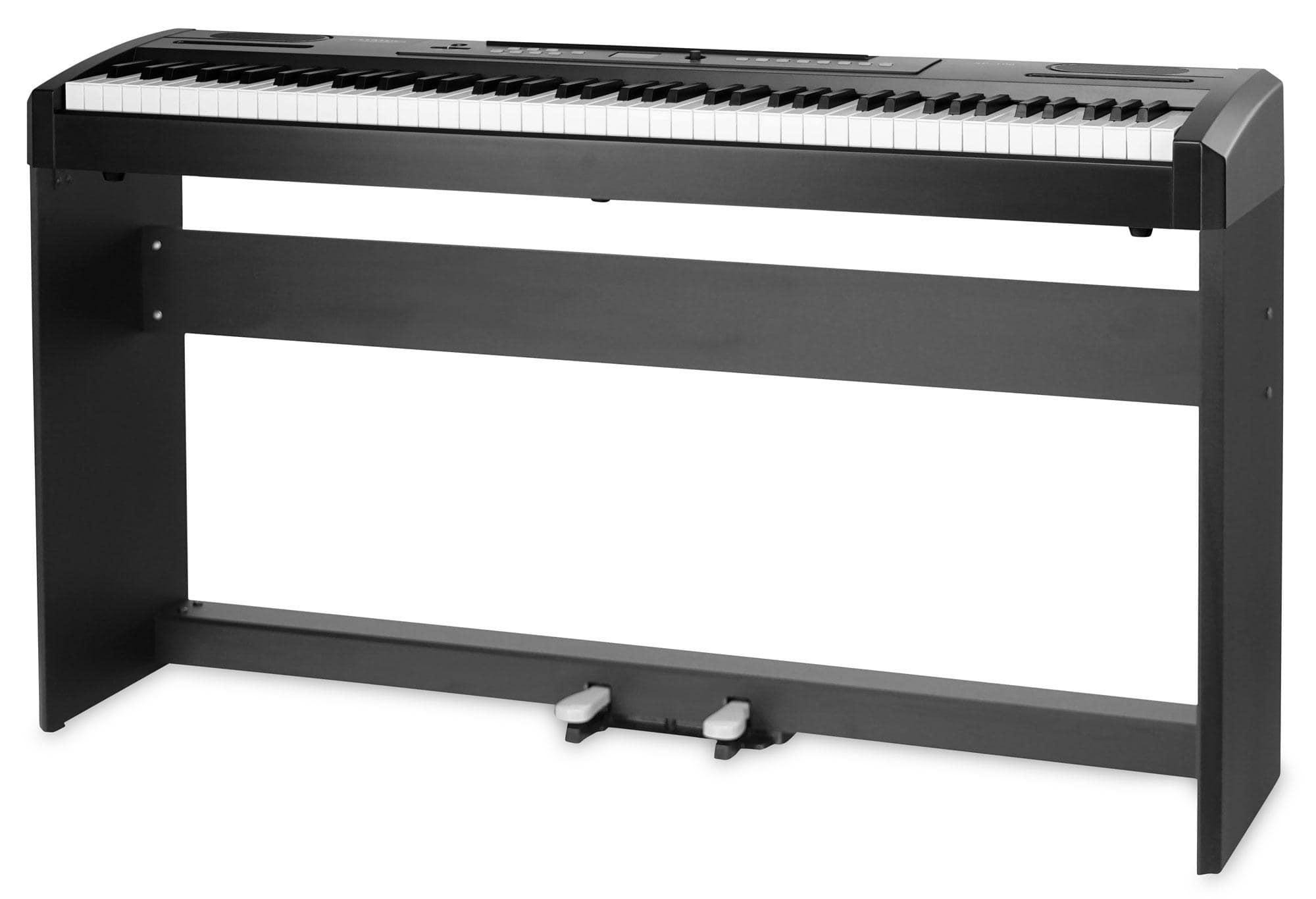 Classic Cantabile SP 100 Stagepiano SET mit Ständer schwarz
