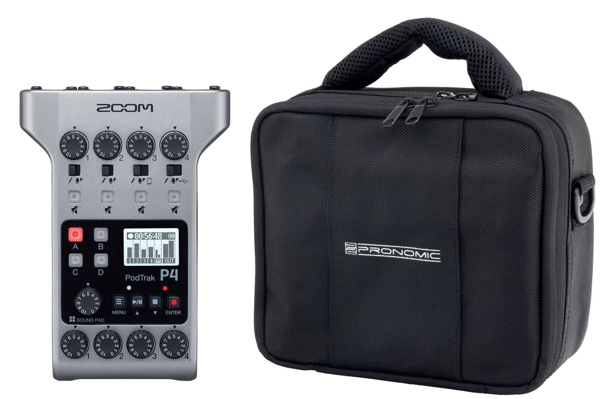 Recording - Zoom PodTrak P4 Podcasting Recoder Set - Onlineshop Musikhaus Kirstein
