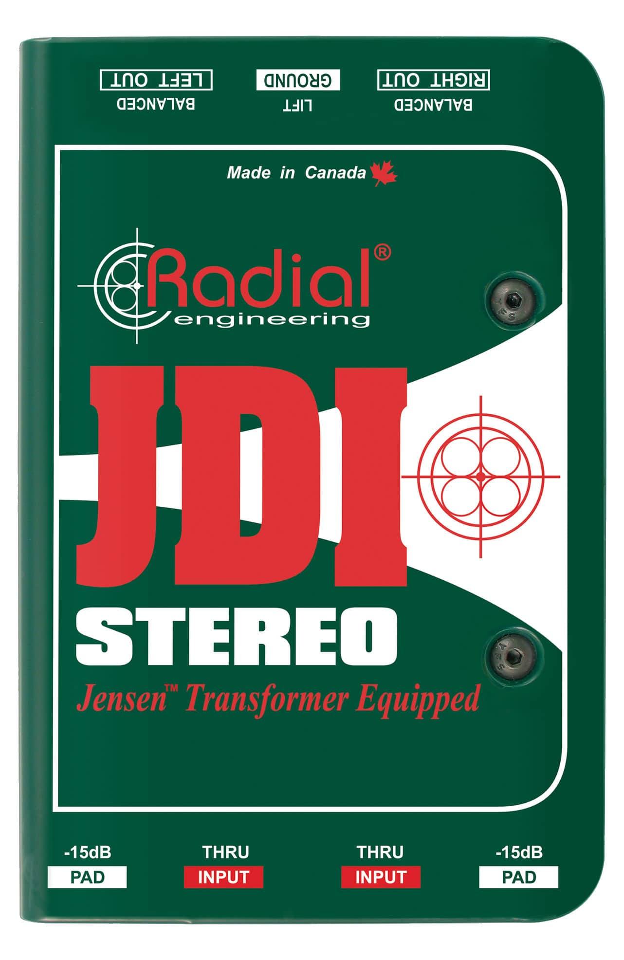 Diboxen - Radial Engineering JDI Stereo - Onlineshop Musikhaus Kirstein