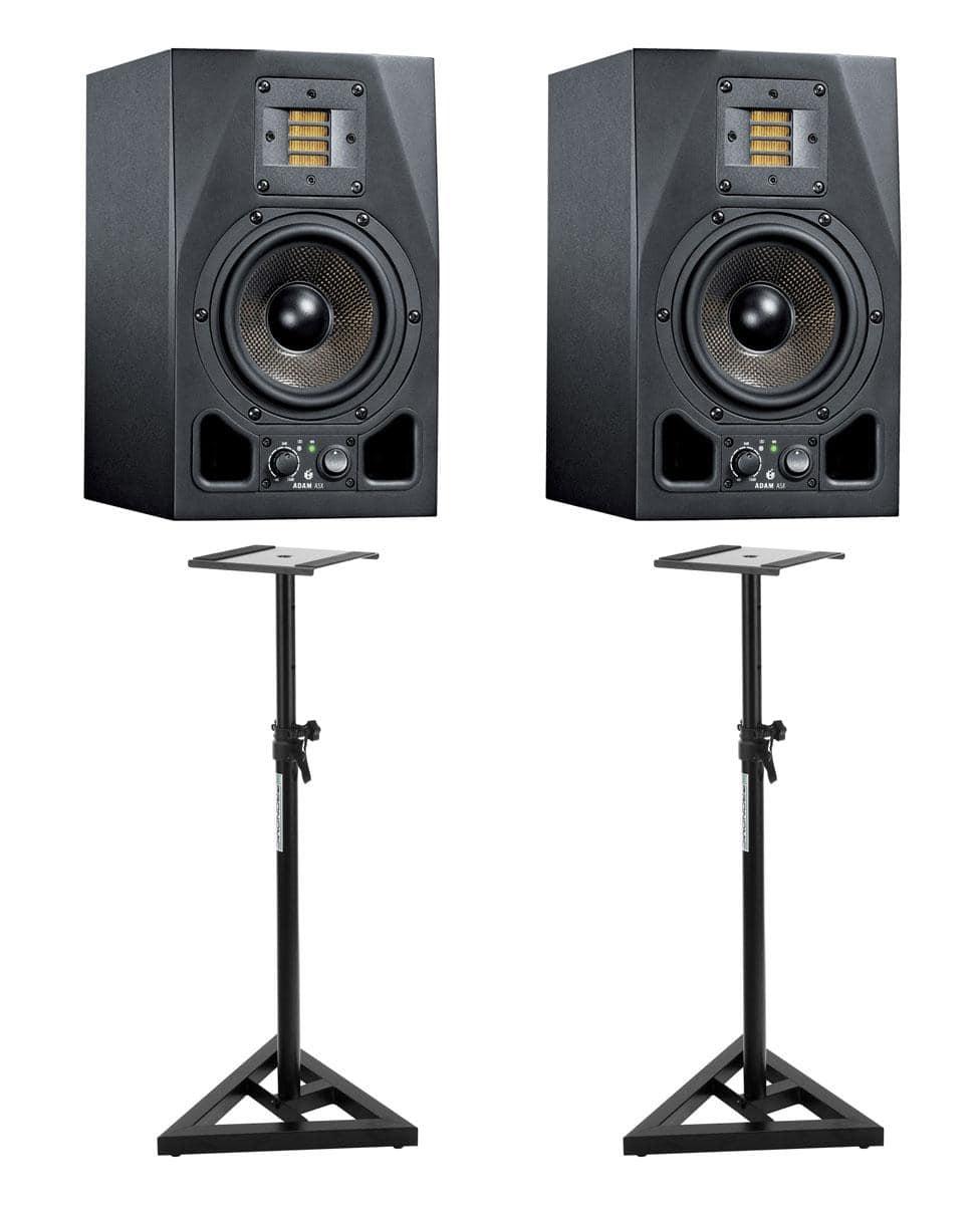Adam Audio A5X Stativ Bundle